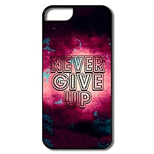 Alice7 Never Give Case For Iphone 5,Style Iphone 5 Case