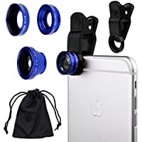 CamKix Universal 3 in 1 Cell Phone Camera Lens Kit for...