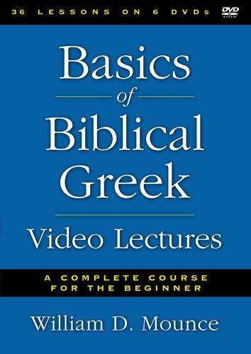 Basics of Biblical Greek Video Lectures: A Complete Course for the Beginner by HarperCollins Christian Pub.