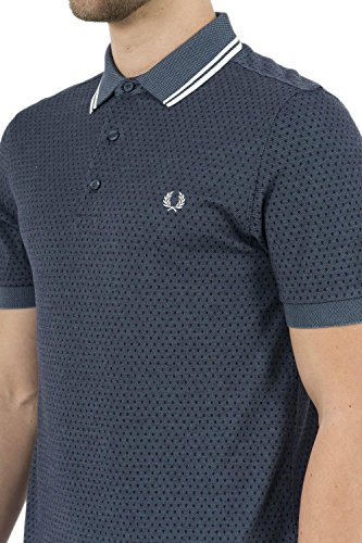 Fred Perry Geometric Print Pique Shirt, Polo