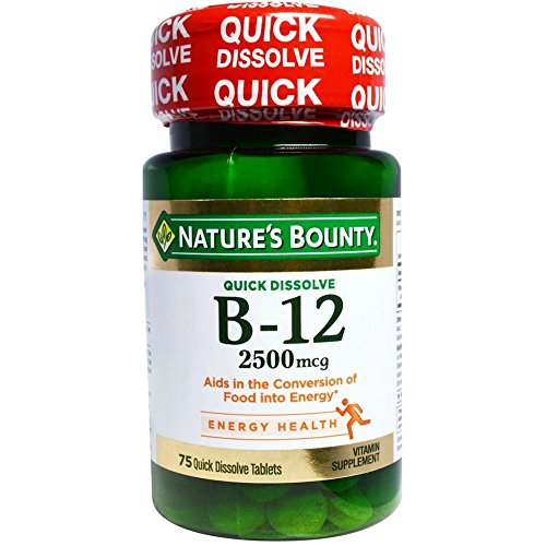 Natures Bounty Vitamin Dissolve Tablets