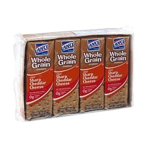 Amazon.com: Lance Whole Grain Sharp Cheddar Cheese