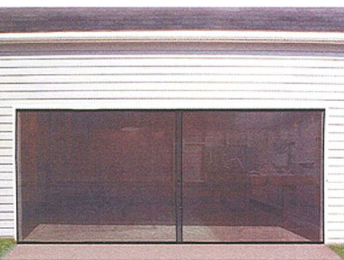 Double Car 7' x 16' Garage Door Screen by Garage Solutions