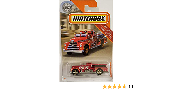 Details about  /MATCHBOX CARS Bubble pack SEAGRAVE FIRE ENGINE  NEW