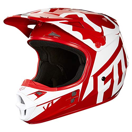2018 Fox Racing V1 Race Helmet-Red-XL