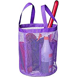 Tough1 Mesh Wash Tote Purple