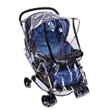 SYOOY Baby Stroller Weather Shield Baby Rain Cover for Rain Snow Wind Fog Dust Transparent