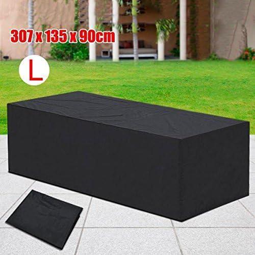 Yaheetech Funda para Muebles Cubierta Funda de Muebles de Jardin Protectora 307 x 136 x 88 cm: Amazon.es: Juguetes y juegos