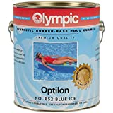 Optilon Synthetic Rubber Swimming Pool Paint - White - 6 Pack