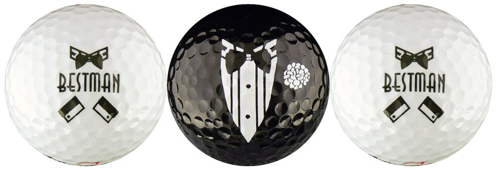 EnjoyLife Inc Best Man Wedding Variety Golf Ball Gift Set by EnjoyLife Inc
