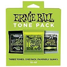 Ernie Ball 3331 Slinky Electric Guitar String Tone Pack, Regular Slinky