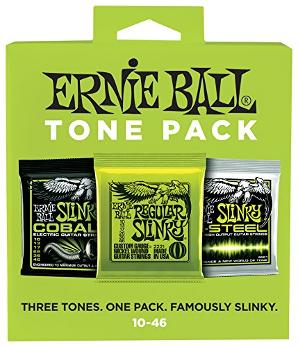 Ernie Ball Tone Pack Electric Guitar String Regular Slinky C