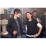 The L Word Katherine Moennig as Shane McCutcheon and Director Ilene Chaiken Off Camera Shot 8 x 10 inch photo