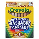 Crayola Multicultural Colors; Broad Line Washable Markers; Art Tools; 8 ct.