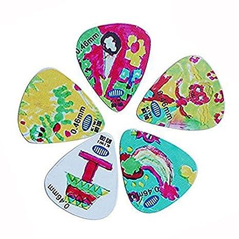 OFKPO 15 piezas Guitar Picks Púas, Puas Plectro para Guitarra Guitar Pick: Amazon.es: Electrónica