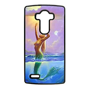 New Style Mermaid Image Phone Case For LG G4