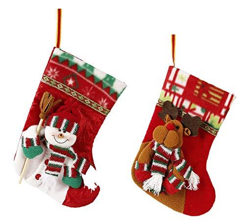 Heng Heng Christmas Stocking Ornaments Decoration Santa Socks