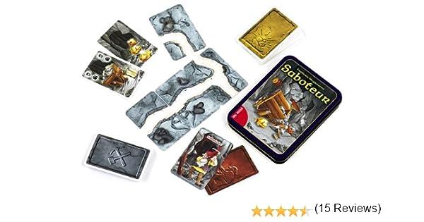 Dal Negro 53553 Saboteur - Juego de Cartas en Caja metálica (versión en Italiano): Amazon.es: Juguetes y juegos