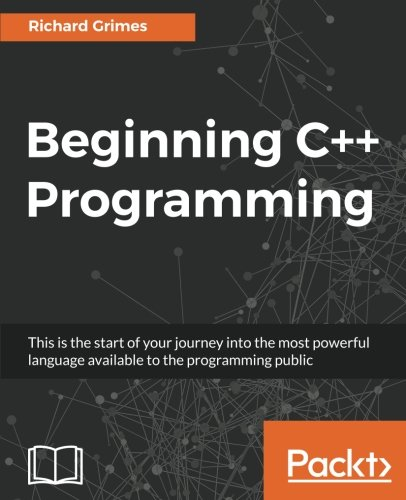 Beginning C++ Programming by Packt Publishing - ebooks Account