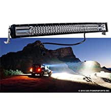 """Curved T-Series 30"""" OZ-USA Triple Row LED Light Bar Combo Beam (Flood+Spot) with Security Hardware Kit Offroad 4x4 Truck SUV"""
