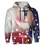 Ballet Dancer Men's Novelty Graphic Long Sleeve Hoodie Pocket In Front For Gymnastics Sportswear