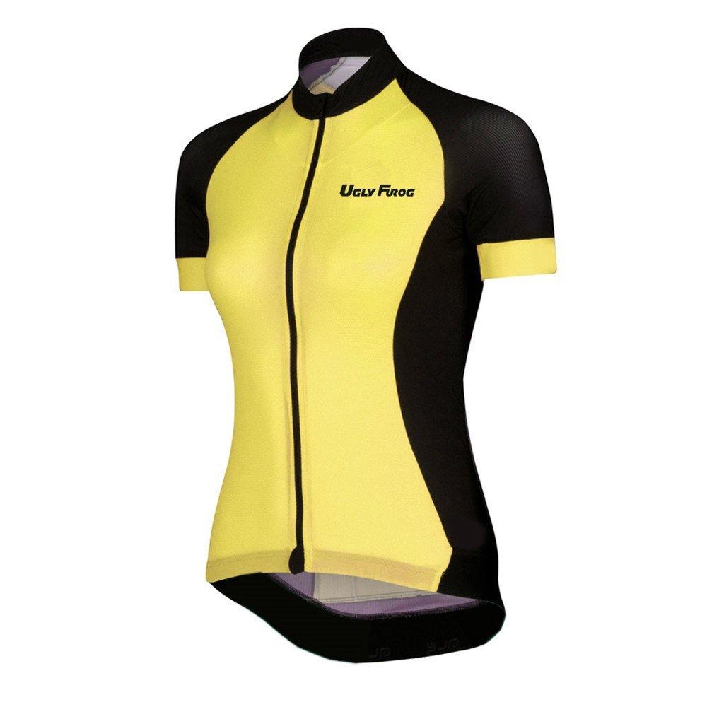 Uglyfrog Cycling Jersey Short Sleeve Outdoor Sports Wear Women Summer Style Triathlon Clothing HW12
