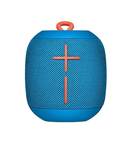 Logitech UE WONDERBOOM Portable Waterproof Bluetooth Speaker – Wireless Boom Box – Bulk Packaging – Subzero Blue