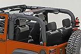 Outland 391361306 Black Vinyl Roll Bar Cover for Jeep JK Wrangler