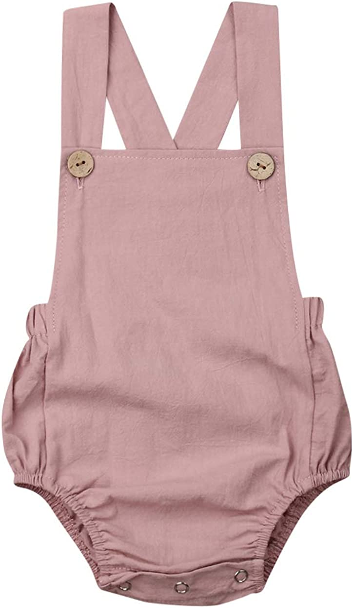 Vohawsa Baby Girl Boy Velvet Strap Suspender Overalls Pant Solid Jumpsuit Bib Pants One-Piece Spring Fall Clothes