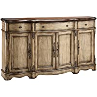 Stein World Furniture Gentry Credenza, Antique Dustry Linen