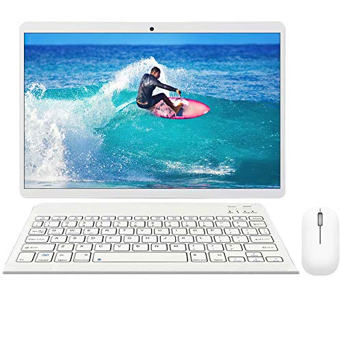 10.1 inch Android Tablet, 64GB ROM 4GB RAM Call Phone Tablet PC, Android 9.0, 8MP Rear Camera, 8000mAh Battery, Dual SIM…