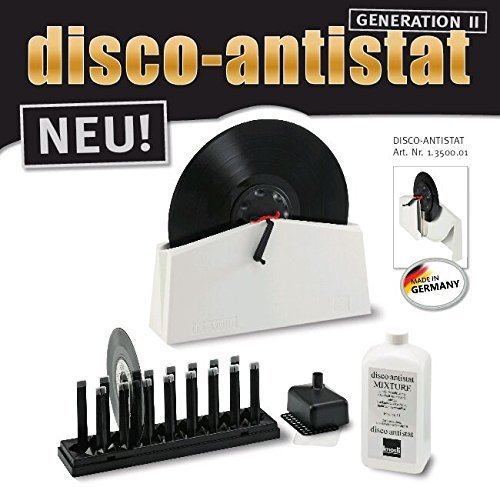 8 opinioni per Knosti Disco Antistat Vinyl Record Cleaning Machine Cleaner Kit (Generation 2)