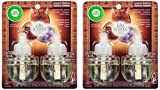 Air Wick Air Freshener Scented Oil Refill - Limited Edition - Life Scents - Woodland Glow - Holiday Collection 2016 - Twin Refill Package - Net Wt. 1.34 FL OZ (40 mL) Per Package - Pack of 2 Packages