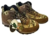 Ozark Trail Outdoor Equipment Men's Mid Camouflage Waterproof Hiking Boot (Mossy Oak Camo Green, Size 8 US)