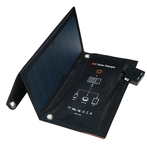 15 Watt Solar Battery Charger - 7