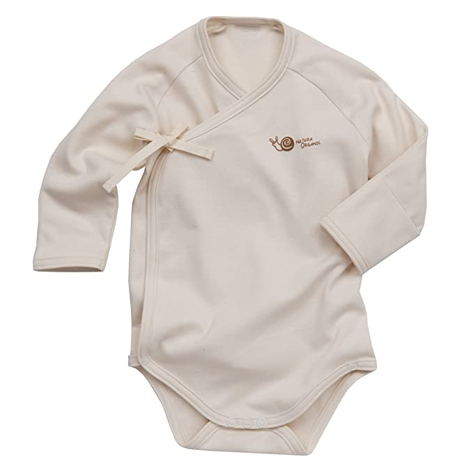 b1c632b7c Image Unavailable. Image not available for. Color: Babiesnature Basic  Kimono Bodysuit Long Sleeve Baby Boy ...