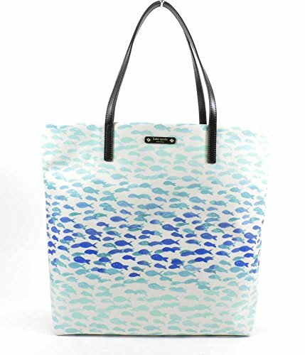 Kate Spade New York Make a Splash Bon Shopper Tote Bag (Plenty Fish)
