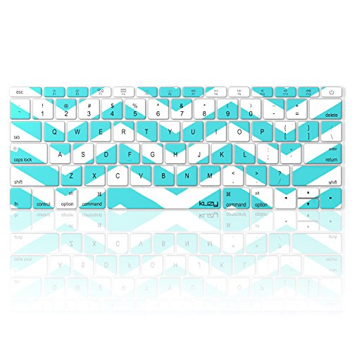 macbook keyboard cover teal - 9