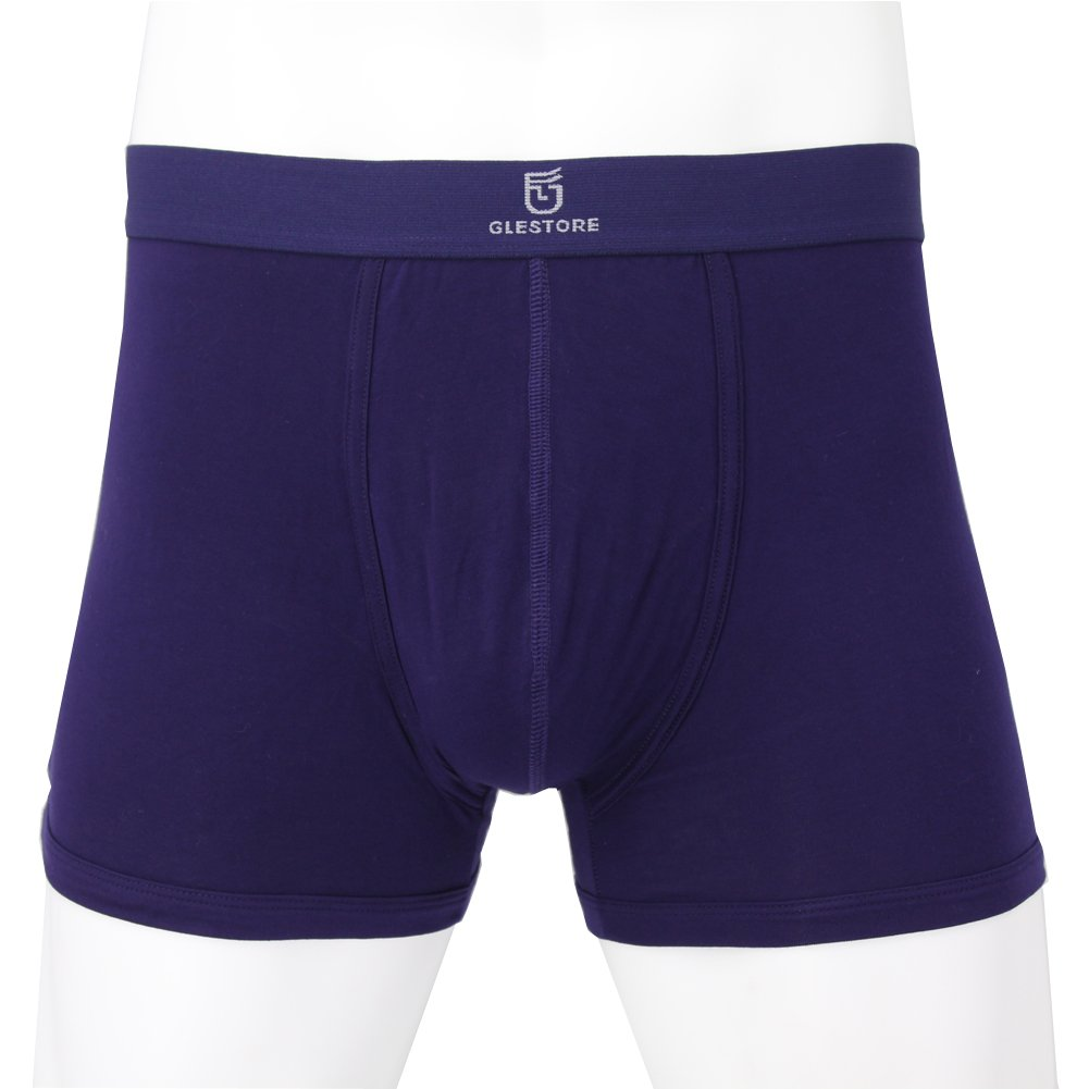 Glestore Mens Pack of 4 5 Boxer Shorts Elasticated Waist Breathable Underwear