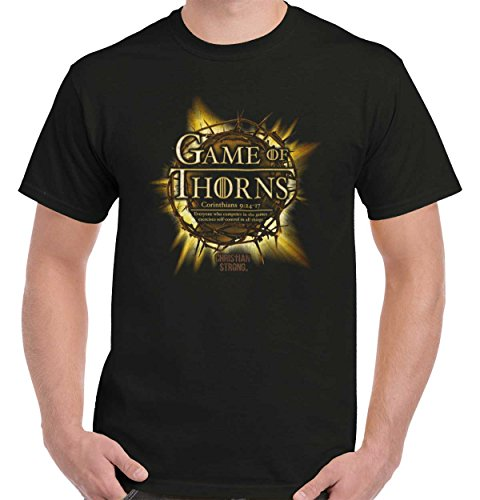 Thorn Crown Christian T Shirt | Game Of Thrones Jesus Christ T-Shirt Tee