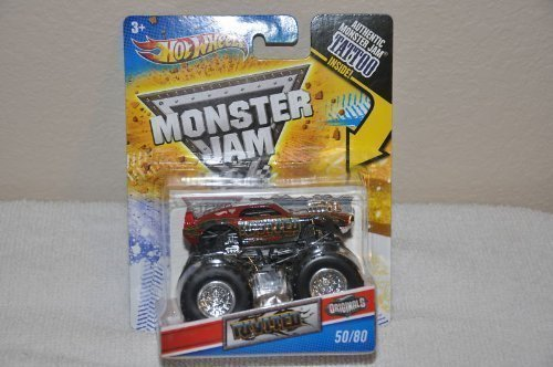 2011 Hot Wheels Monster Jam Originals #50/80 RIVITED 1:64 Scale Collectible Truck with Monster Jam TATTOO by Hot Wheels -  Mattel