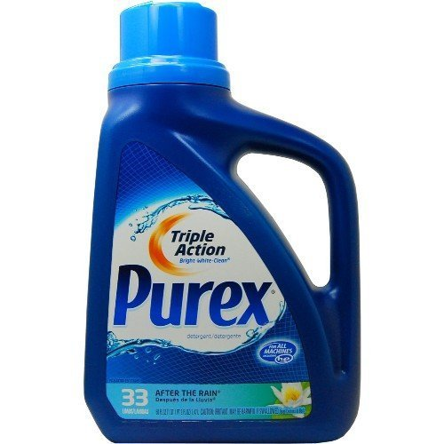Purex HE Laundry Detergent, After The Rain, 50 Ounce by Purex