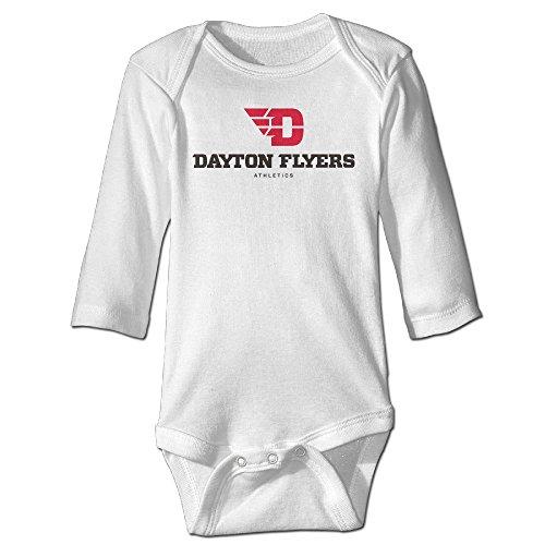 Funny Vintage Unisex University Of Dayton Logo 5 Baby Onesie Baby-Boys And -