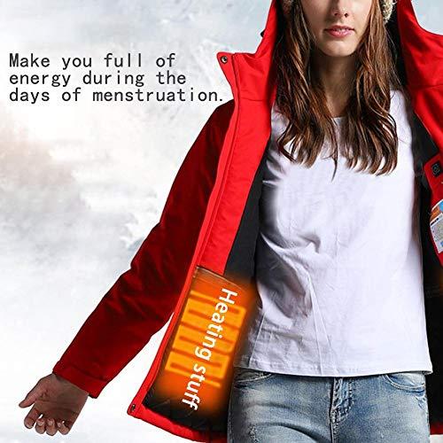 Calefacción Algodón De Chaqueta Constante Temperatura Ropa Libre Aire Al Rojo yan Algodón Carga Molre 7tqpUx4Ew7