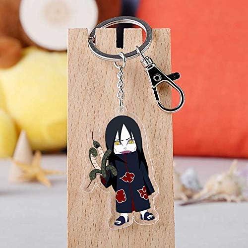 Anime Naruto Uzumaki Keychain Key Rings Cosplay Key Chain Unisex Charm
