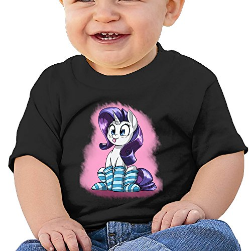 Price comparison product image Boss-Seller Image Horse Short-Sleeve Shirt For 6-24 Months Toddler Size 18 Months Black