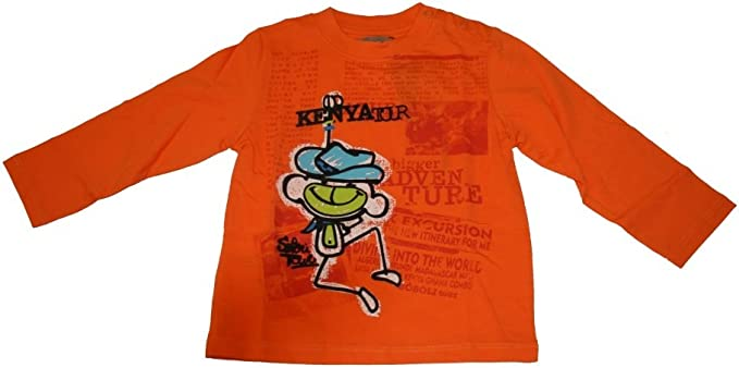 boboli - Camiseta de Manga Larga - para niño Naranja 18 Meses ...