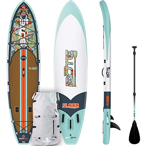 BOTE Flood Aero Native Floral Inflatable Paddle Board (Board Bote)