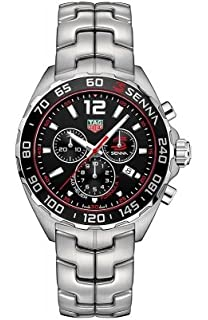 Tag Heuer Senna Chronograph Black Dial Mens Watch CAZ1015.BA0883