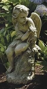 Cherub on Pedestal Statue